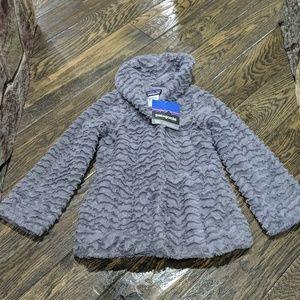 Patagonia Pelage Jacket Grey (girls) XS 5-6 NWT